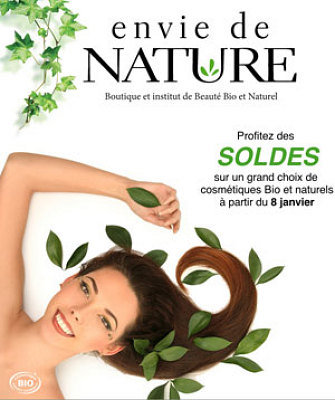 illustration de La Rochelle : soldes d'hiver 2014 au comptoir de la beauté bio et naturelle