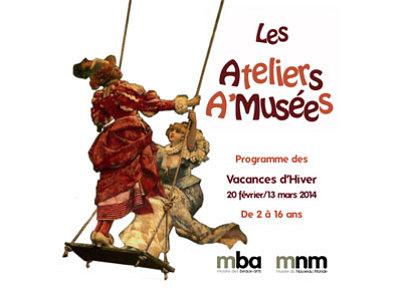illustration de Ateliers aux musées d'art et d'histoire de La Rochelle : au programme des vacances d'hiver 2014