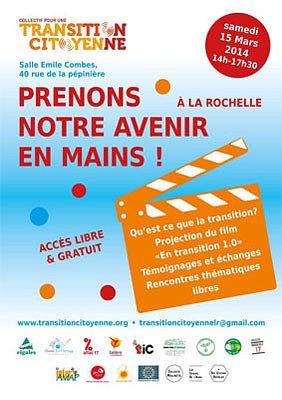 illustration de La Rochelle : 2e rendez-vous du collectif pour une Transition Citoyenne, samedi après-midi, 15 mars 2014