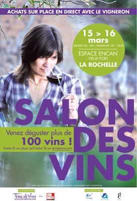 illustration de A la table de Grégory Coutanceau au salon des vins de La Rochelle les 15 et 16 mars 2014