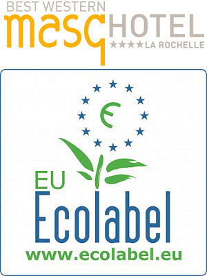 illustration de La Masqhôtel : premier hôtel à La Rochelle certifié Eco Label européen