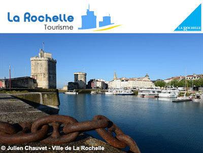 illustration de Balades et visites avec l'Office du tourisme de La Rochelle : tricycle à moteur, ports, monuments, Moyen-Âge...
