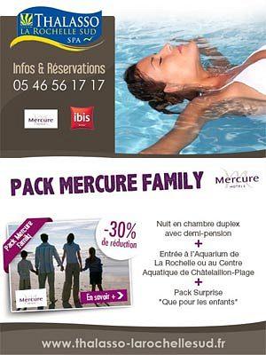 illustration de La Rochelle Sud Châtelaillon : offre spéciale pack Mercure family à -30% !