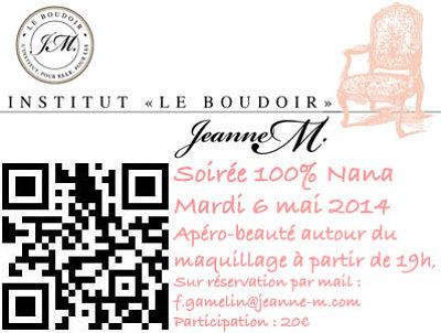 illustration de La Rochelle beauté : soirée 100 % Nana au Boudoir de Jeanne - M, mardi 6 mai 2014