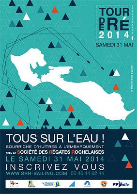 illustration de La Rochelle SRR : Tour de Ré 2014, grande régate habitables samedi 31 mai 2014, inscriptions ouvertes !