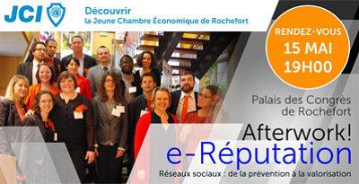 illustration de JCE - Jeune Chambre économique de Rochefort : after-work autour des réseaux sociaux et l'e-réputation,  jeudi 15 mai 2014 à 19h