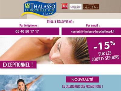 illustration de Fête des mères dans la région de La Rochelle : promos, bien-être et bons cadeaux thalasso pour le 25 mai 2014 !