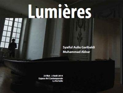 illustration de La Rochelle : Lumières, exposition de Muhammad Akbar et Syaiful Aulia Garibaldi à l'Espace d'art contemporain, vernissage jeudi 22 mai 2014