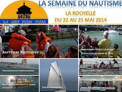illustration de Semaine du nautisme à La Rochelle du 22 au dimanche 25 mai 2014, championnat de godille samedi 24 mai