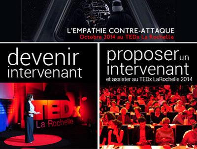 illustration de La Rochelle TEDx : prolongation pour les candidatures jusqu'au 8 juin 2014 !