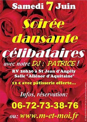 illustration de De la Rochelle à Saintes : soirée-culte pour les célibataires de Poitou-Charentes, samedi 7 juin 2014 !