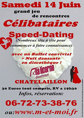 Soiree speed dating lille