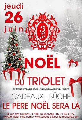 illustration de La Rochelle clubbing : ne ratez pas le début de l'été et le Noël du Triolet club, jeudi 26 juin 2014 !