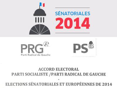 illustration de Sénatoriales en Charente-Maritime : publication de l'accord PS-PRG signé en juin 2013, actant une candidature radicale de gauche dans le département
