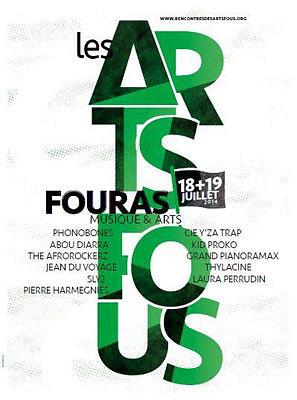 illustration de Entre la Rochelle et Rochefort : festival les Arts Fous, session estivale à Fouras, vendredi 18 et samedi 19 juillet 2014