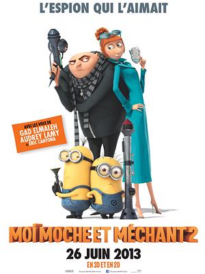 illustration de Cinéma sous les étoiles à La Rochelle : Moi, moche et méchant 2, jeudi 24 juillet à Villeneuve-les-Salines