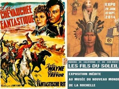 illustration de La Rochelle : la chevauchée fantastique, cinéma au musée du Nouveau Monde, mercredi 20 août 2014 à 21h30