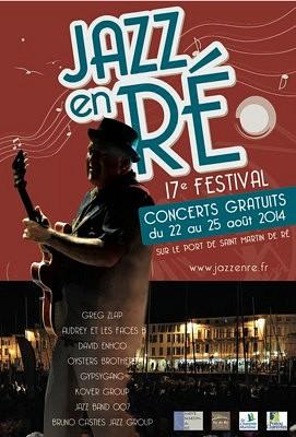 illustration de Jazz en Ré : concerts gratuits du 22 au 25 août 2014 à Saint-Martin sur l'île de Ré