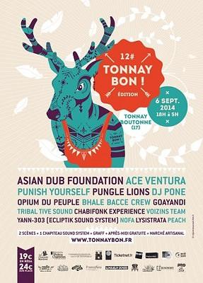 illustration de Charente-Maritime : festival rock, punk, electro Tonnay Bon à Tonnay Boutonne, samedi 6 septembre 18h-5h