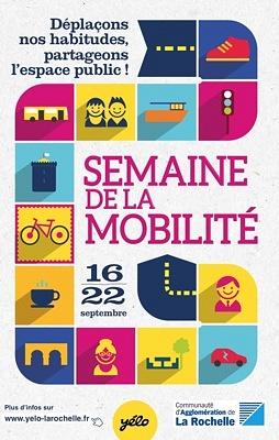 illustration de Semaine de la mobilité à La Rochelle du 16 au 22 septembre 2014, temps forts samedi 20 septembre 2014