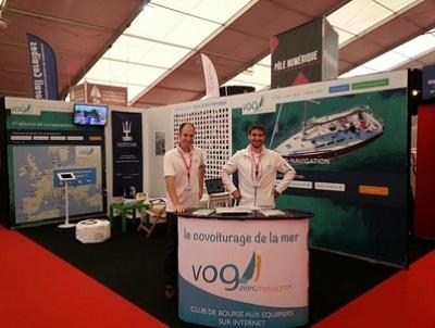 illustration de Co-navigation à La Rochelle : rendez-vous au Grand Pavois avec Vogavecmoi jusqu'au 22 sept. 2014 !