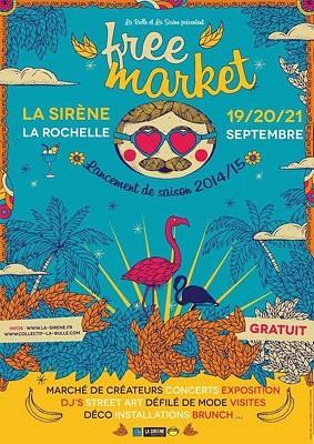 illustration de La rentrée de La Sirène à La Rochelle : créateurs, concerts, dj's, expos, brunch... C'est gratuit les 19, 20 et 21 septembre 2014