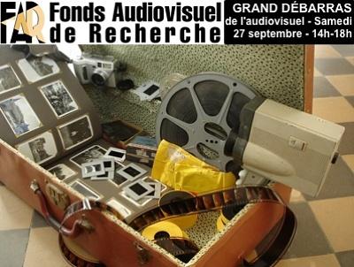 illustration de La Rochelle : grand débarras audiovisuel au FAR, samedi 27 septembre 2014