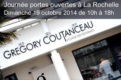 illustration de École de cuisine à La Rochelle : portes ouvertes à La Classe des Gourmets - Grégory Coutanceau, dimanche 19 octobre 2014