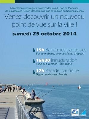 illustration de La Rochelle fête l'extension du port de plaisance des Minimes, samedi 25 octobre 2014