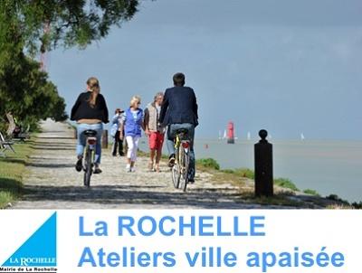 illustration de La Rochelle, concertation pour une ville apaisée : ateliers participatifs dans les quartiers au mois de novembre 2014