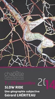illustration de Exposition à La Rochelle : Slow ride de Gérard Lhériteau à la chapelle des Dames Blanches jusqu'au 29 novembre 2014