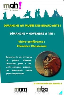 illustration de La Rochelle : un dimanche au musée des Beaux-Arts autour de Théodore Chassériau, le 9 novembre à 15h