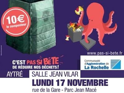 illustration de Composter c'est facile avec La Rochelle Agglo : réunion à Aytré, lundi 17 novembre 2014