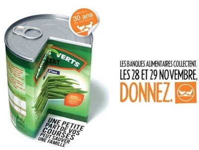 illustration de Charente-Maritime - la Rochelle : grande collecte de la Banque Alimentaire 28 et 29 novembre 2014 !