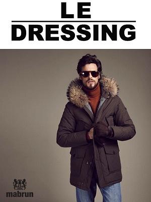 illustration de La Rochelle : manteaux et parkas Mabrun pour l'homme au Dressing