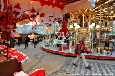 illustration de Place de Verdun à La Rochelle : marché de Noël et animations, le programme jusqu'au 2 janvier 2015