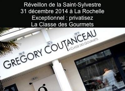 illustration de Un réveillon unique à La Rochelle ? Le 31 décembre 2014, privatisez La Classe des gourmets !