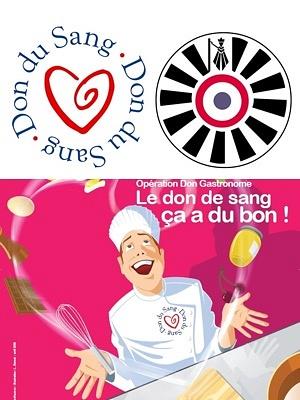 illustration de Don du sang à La Rochelle : appel aux donneurs, collecte et collation gastronomique avec la Table Ronde et Baïtona, mercredi 7 janvier 2015 !