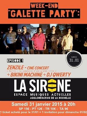 illustration de Ciné-concert à La Rochelle : Zenzile revisite