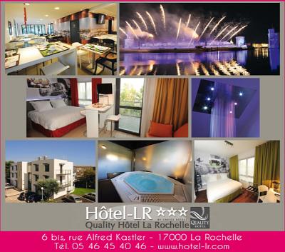illustration de La Rochelle hôtel 3 étoiles : emploi de réceptionniste CDI - 35h