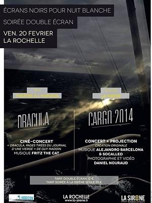 illustration de La Rochelle - Cargo : soirée musicale et visuelle avec Socalled, Alejandro Barcelona et Daniel Nouraud à La Sirène, vendredi 20 février 2015