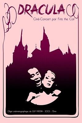 illustration de La Rochelle : ciné-concert Dracula par Fritz The Cat à l'Horizon, vendredi 20 février 2015