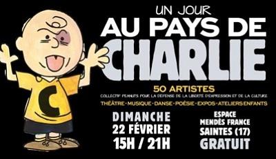 illustration de À Saintes en Charente-Maritime : un dimanche libre et artistique au pays de Charlie, le 22 février 2015 15h-21h