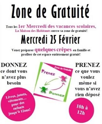 illustration de Dompierre-sur-Mer : espace de gratuité spécial enfants, mercredi 25 février 2015