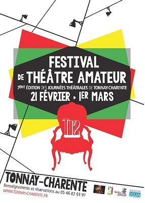 illustration de Théâtre amateur en Charente-Maritime : Journées théâtrales de Tonnay-Charente jusqu'au dimanche 1er mars 2015