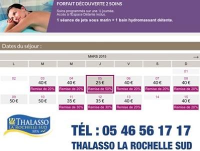 illustration de La Rochelle bien-être : 50% de réduction sur l'offre 2 soins découverte, uniquement le jeudi 5 mars 2015 !