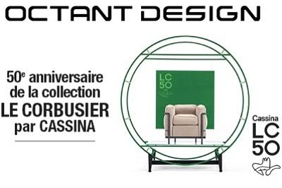 illustration de Avec Octant Design La Rochelle : les 50 ans de la Collection Le Corbusier chez Cassina