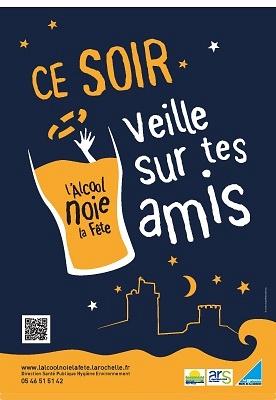 illustration de Père Cent à La Rochelle : prévention des risques liés à l'alcoolisation excessive auprès des lycéens, mardi 10 mars 2015