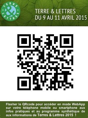 illustration de La Rochelle dates à retenir : rencontres Terre & Lettres du 9 au 11 avril 2015