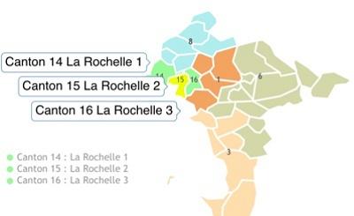 illustration de La Rochelle 1 - 2 et 3 : dernières réunions des binômes des 3 cantons avant le 1er tour des départementales